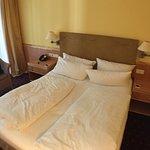 sehr gute Betten; wir haben sehr gut geschlafen