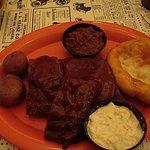 BBQ Ribs at the Back Room! YUMMMMMMY!