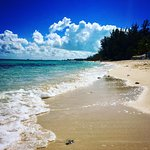 White Sand & Clear Water!