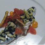 Lomo de sardina marinada