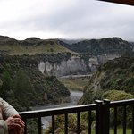 View from the patio - Rangitikei river