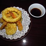 Appetizer Assorted Tempura--done nicely