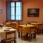 La sala pranzo.