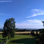 Kentish view from our B & B window