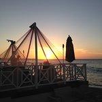 Sunset at the Matrini bar