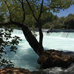 Manavgat Waterfall and River Foto