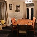 Beautiful slab dining table