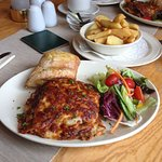 Now thats what I call a Lasagne & on a plate too !!
