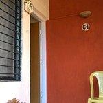 Balcony- very small