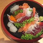 Sashimi - good selection