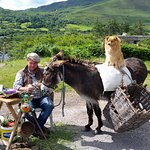 Many scenic pull offs along the Ring of Kerry