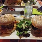 Doubles burgers