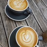 Great tasting and great looking coffee