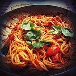 Hm hm hm, spaghetti napolitana