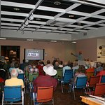 A shot of the crowd at our presenter series.