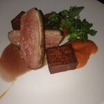 Zatar Crusted Duck Breast