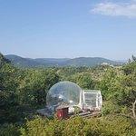 bulle nature vue d'en haut