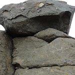 Grandes rocas en la zona