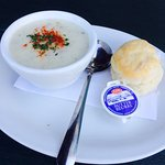 It was very delicious. Best chowder I have ever had.