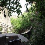 Hangbrug Rio Monachil.