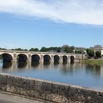 One of the lovely bridges in Saumur