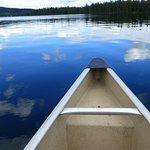 Kanupartie am Lac le Jeune