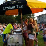 Sunset Slush Classic Italian Ice Cart