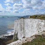 Kreidefelsen von Dover Foto