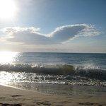 Пляж в 7:00 утра.