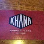 Khana Bombay Cafe branding