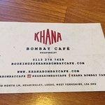 Contact details of Khana