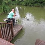 Fishing on your doorstep of 'Clover'