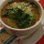 Turkey & Kale soup.