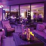 Seasons Restaurant Terrace at Night