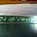 Lily Pad Mural in Canal