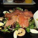 bon salade saumon