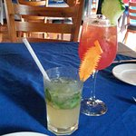 Many fine drinks on the menu - best mojito I've ever had