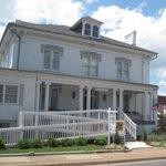 The Virginia Quilt Museum is located in downtown Harrisonburg, Virginia in the Warren Sipe House