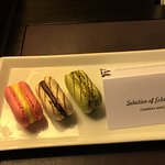 nice welcome french macaroons