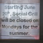 Social Grill, Chapin, South Carolina, July 2016