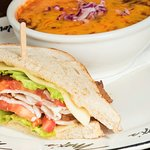 Soup and Salad - Turkey Club and Beef Chili
