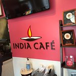 Inside tiny India Cafe Express in Kailua