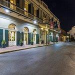 Historic Hotel Exterior - Evening