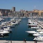 Vue magnifique sur le vieux port