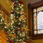 Foyer Christmas Tree