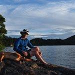 Upper Saranac Lake: campsite #20