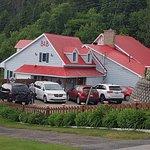 Auberge (la chambre famille se trouve où il y a les 3 fenêtres sous les toits)
