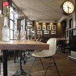 Inside of bar