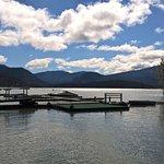Rimrocks Lake boat mooring area