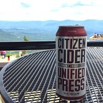 Citizen Cider - Vermont cider with a Vermont view